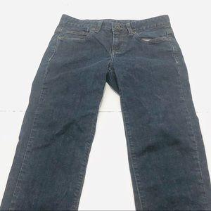 "madison jeanswear Jeans - Madison Size 4 x 32"" Inseam Skinny Dark Blue Jeans"